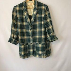 Women's Pendleton Blazer Vintage Size 12